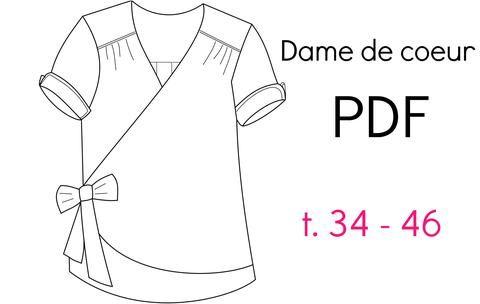 """Patron """"Dame de Coeur"""" - PDF (34-46)"""