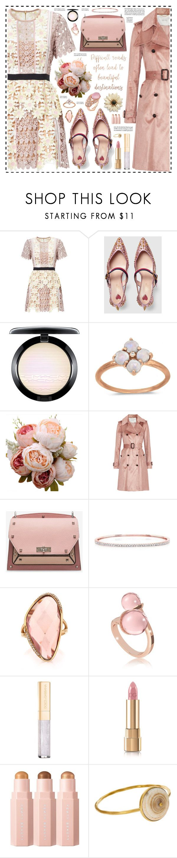 """""""Beautiful Destination!"""" by hennie-henne ❤ liked on Polyvore featuring Gucci, MAC Cosmetics, BillyTheTree, ADAM, Bally, Mark Broumand, Rebecca, Dolce&Gabbana and Mirabelle"""