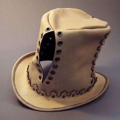 Tom Banwell—Leather and Resin Projects: Steampunk Leather Top Hat Tutorial