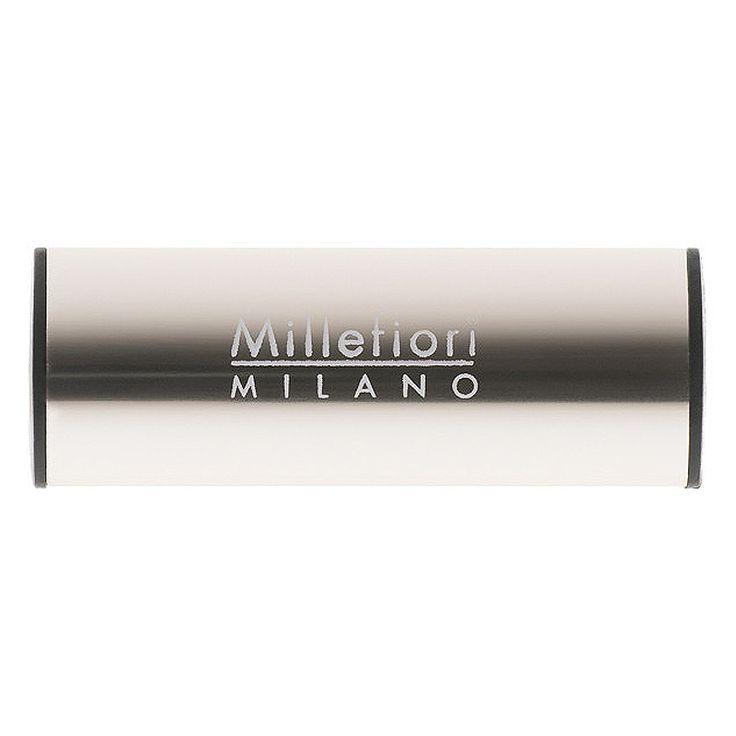 Millefiori Milano – vůně do auta Metallo, Santal a bergamot, lesk