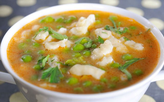 Hungarian Pea Soup recipe | Going Paprikash