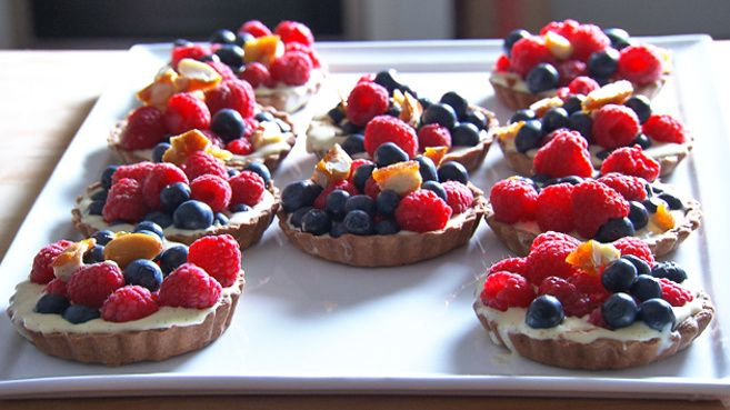 Chocolate Berry Tartlets