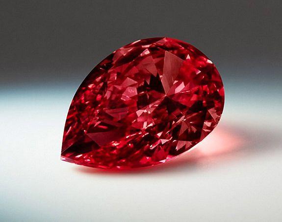 Very rare Fancy Red Diamond Argyle Allegro Prima; Rio Tinto annual Tender 2015 more on theblogjewelrydecarolinebigeard.com