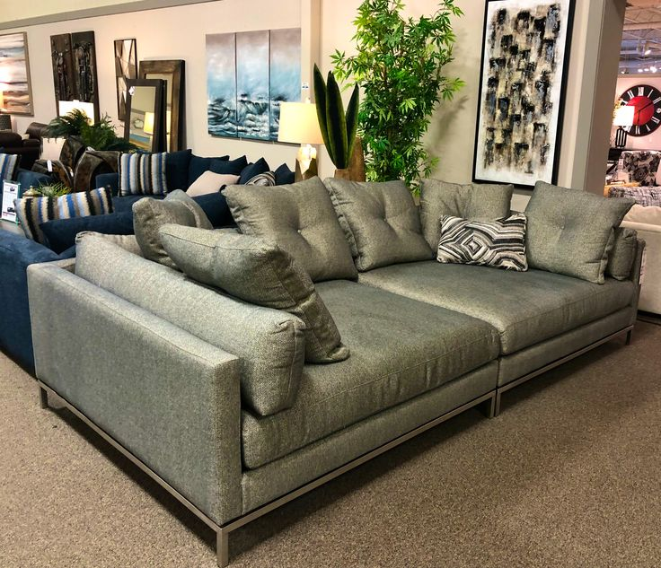 "Looking for a deep sofa?  Is 59"" deep enough?  #thecomfortyoucrave"