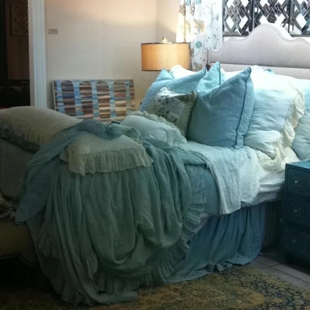 Bella Notte Bedding At Larry Lott Interiors.