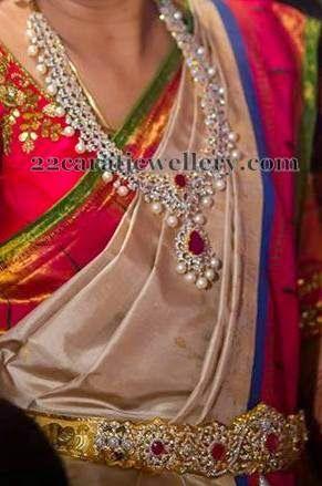 Jewellery Designs: Diamond Pretty Wedding Jewelry