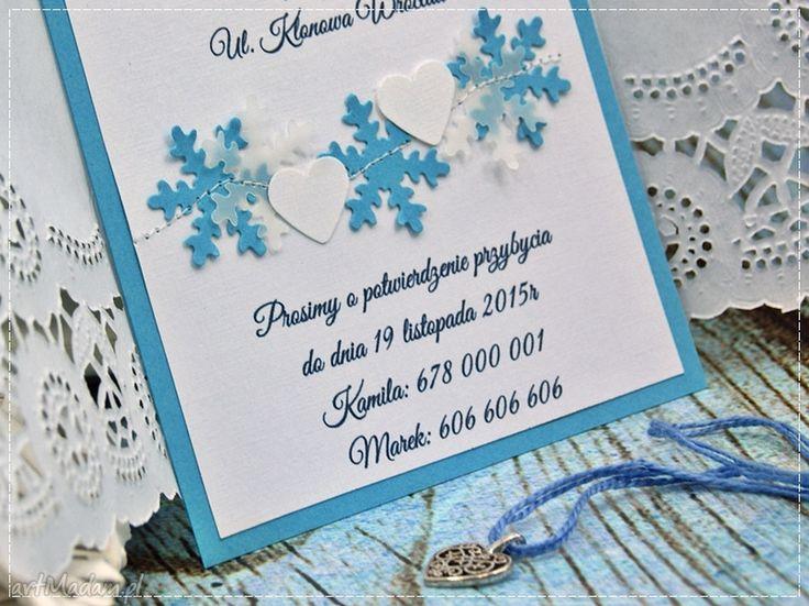 • ręczne wykonanie zaproszenie, akcesoria - zaproszenia na ślub