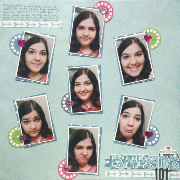 Amiche di Scrap: sfida Layout #13 - Daniela