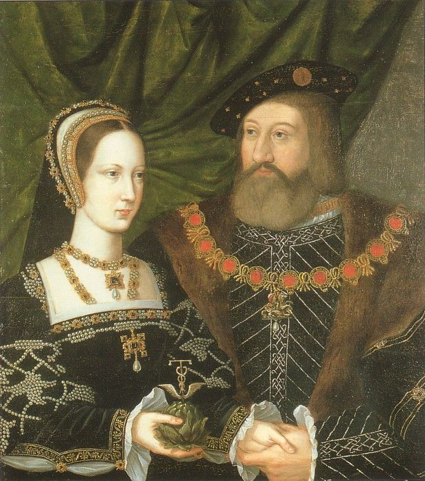 Wedding portrait of Charles Brandon, Duke of Suffolk, childhood friend of Henry VIII and Mary Tudor, Henry's sister, c.1516: