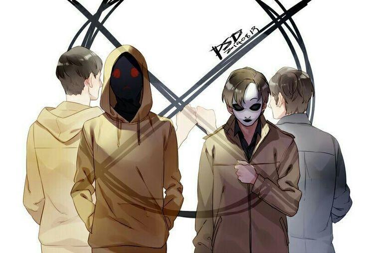 Masky and hoodie creepypasta