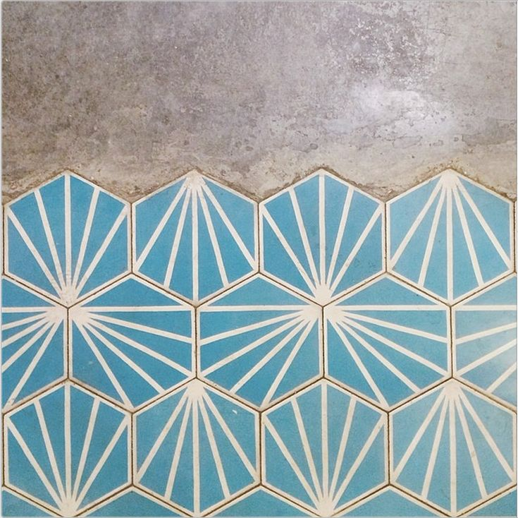 Gorgeous geometric wooden tiles surfaces pinterest tuile - Carrelage motif geometrique ...