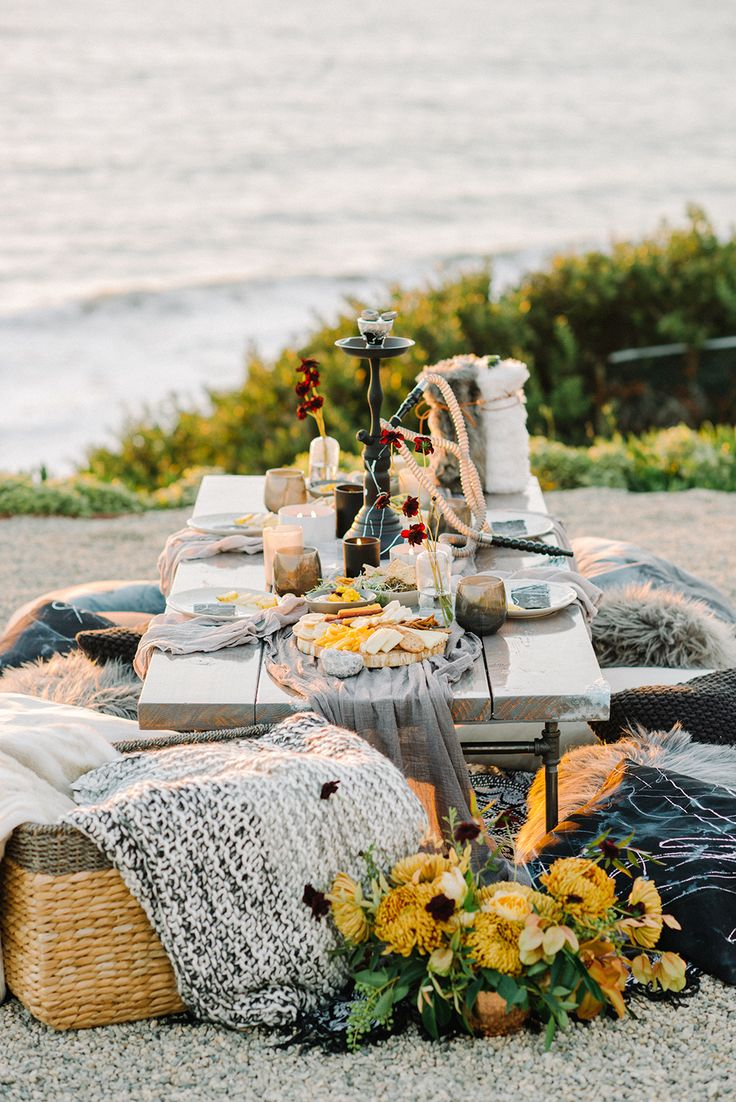 Moroccan inspired tablescape - photo by Krista Mason Photography http://ruffledblog.com/unconventional-wedding-inspiration-with-grey-and-marigold