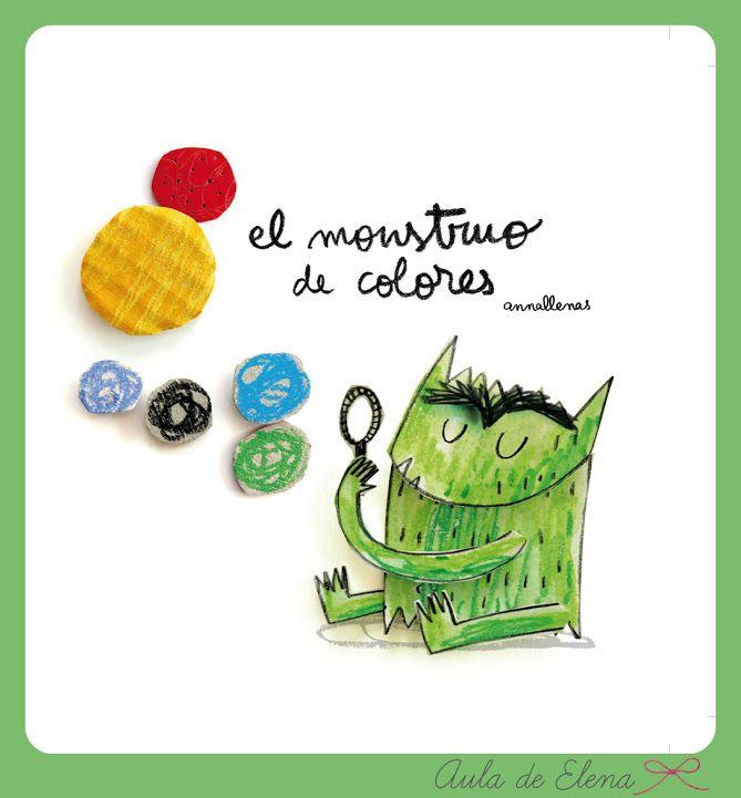 EL MONSTRUO DE COLORES del Proyecto Cuéntame un cuento del blog Aula de Elena.
