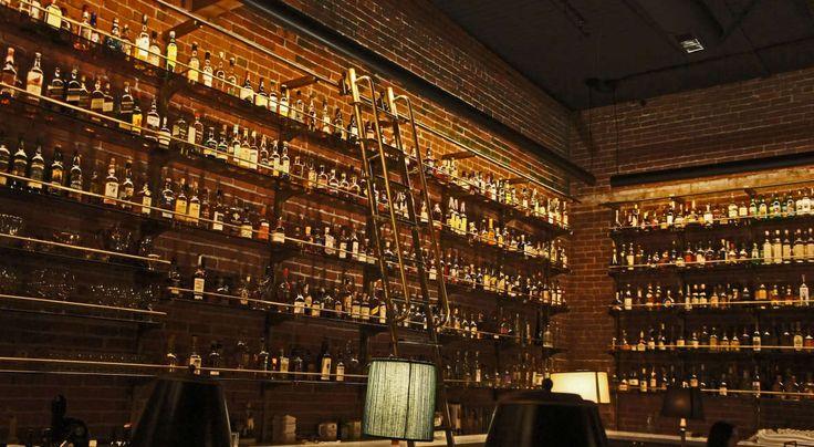 Multnomah Whiskey Library Portland Oregon