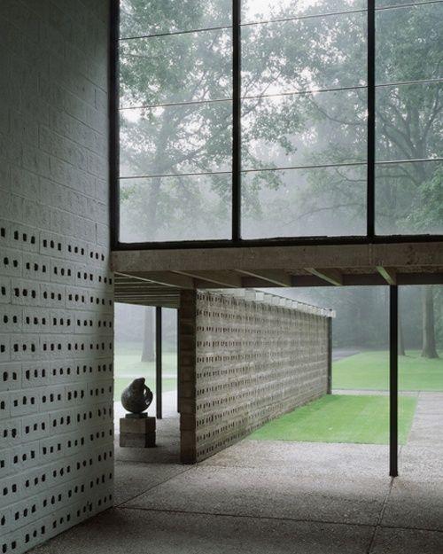Sonsbeek Pavilion, 1955, Kröller-Müller Museum, Otterlo, The Netherlands   Gerrit Rietveld