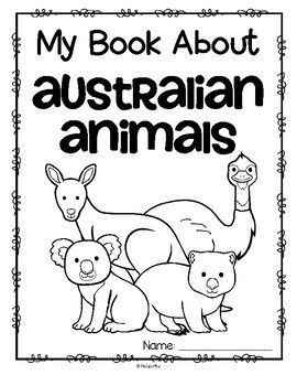 This is a set of activity printables about Australian animals for preschool, pre-K and Kindergarten. Each page can be completed individually as an addition to an Australian animal unit. The pages can be also be stapled together to make an activity book.