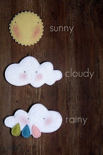 Sol e nuvens...