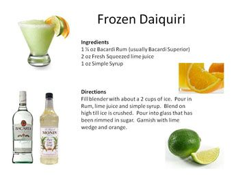 ... Mixologist | SPRITS | Pinterest | Luau Drinks, Daiquiri and Drinks