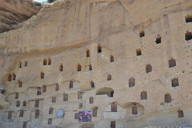 Granaries in Taskale, Karaman, Turkey