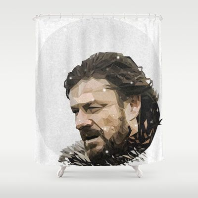 Winter is Coming, so take a hot shower with this Game of Thrones Shower Curtain