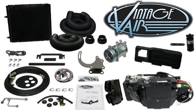 Vintage Air A C Kit W 4 Vent Plenum Moveable Vents Ac Heat Defrost Toms Bronco Parts 1650 In 2020 Vintage Air Ac Heating Vented