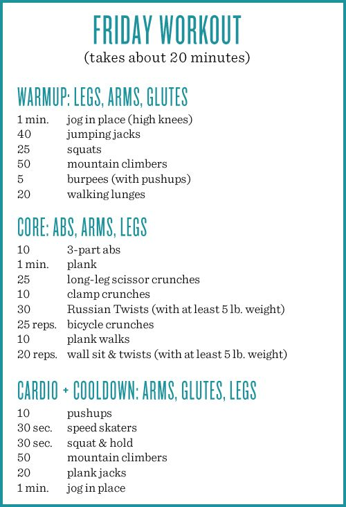 Friday workout! Guess what guys? I'm ditching the intervals. WHAT!? Yeah, they just weren't working for me. I was having a hard ...