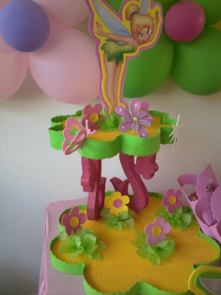 31 best images about fiesta de campanita on pinterest - Manualidades centros de mesa ...