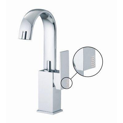 Fima by Nameeks Brick Chic Single Hole Bathroom Sink Faucet with Single Handle Finish: Chrome