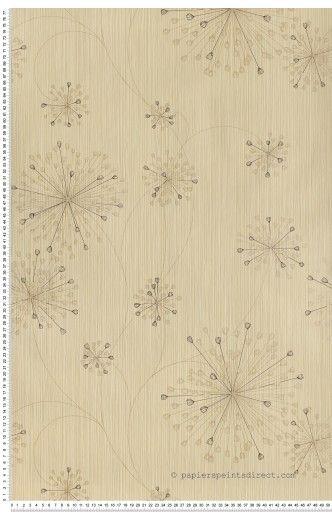 Papier Peint contemporain Fleurs : papier peint direct, vente decoration murale et tapisserie murale de maison