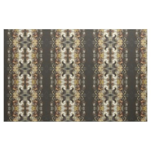 Gold and Silver Star Dust Effect Pattern Fabric / Select from 7 fabric types! #fomadesign