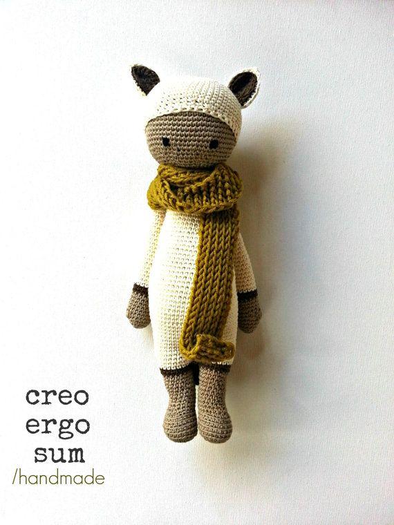 Flò  Amigurumi Doll / Crochet Puppet / Soft by CreoErgoSumHandmade