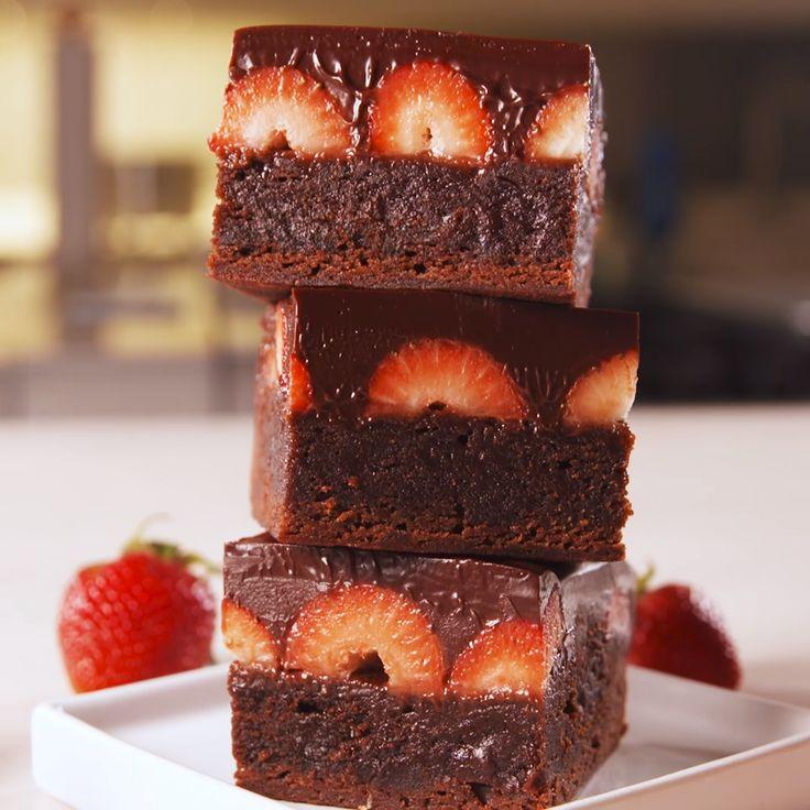 Love at first bite. #food #easyrecipe #baking #brownies #dessert