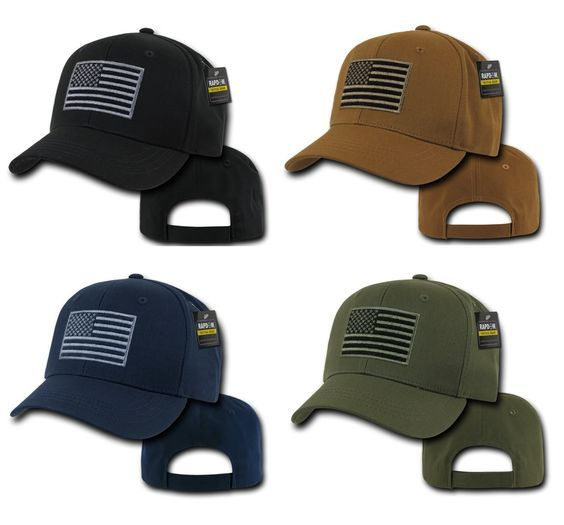 Rapid Dominance USA American Flag Embroidered Tactical Operator Ball Caps Baseball Hats T76 Black OD Navy Coyote *** Visit the image link more details.