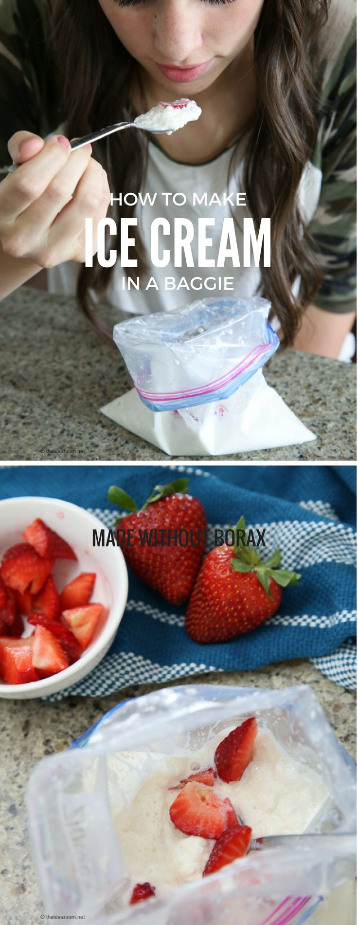 Recipes | Ice Cream Recipe | Summer Crafts | Make Your Own Ice Cream in a Baggie
