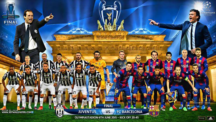 JUVENTUS - FC BARCELONA CHAMPIONS LEAGUE FINAL  graphics by jafarjeef on DeviantArt