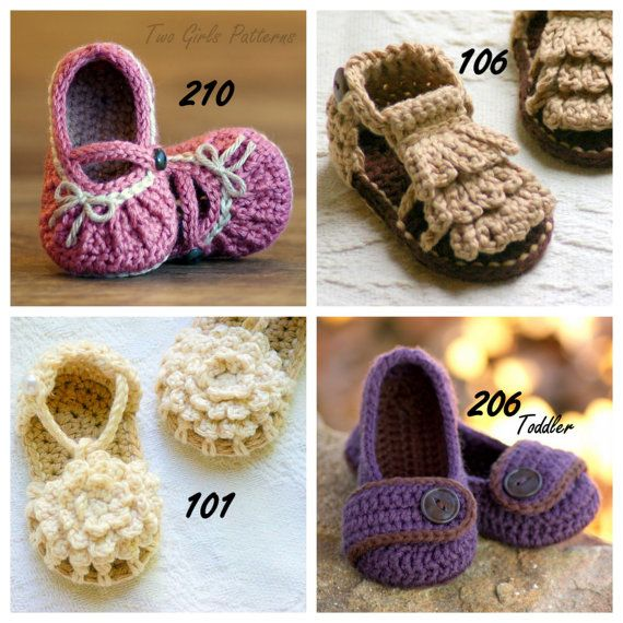 Cute patterns for sale. Love the little mary janes!