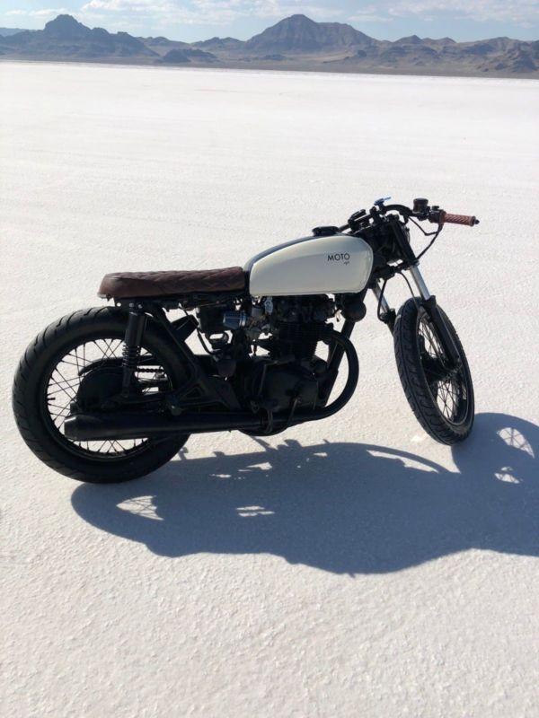 Moto Pgh Honda Cb450 Brat Style Cafe Racer Caferacerforsale Caferacer Cafe Racer Brat Style Cafe Racer For Sale