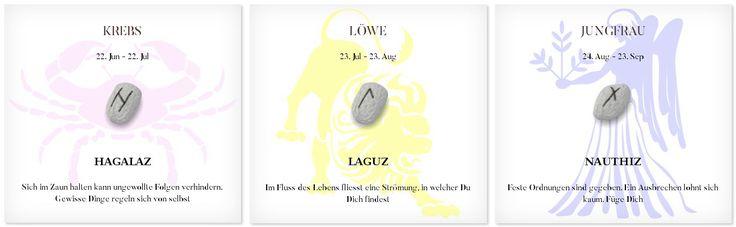 Runen Tageshoroskop 16.4.2017 #Sternzeichen #Runen #Horoskope #krebs #löwe #jungfrau