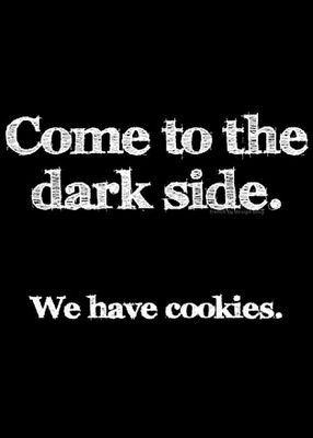 Ha! Because sometimes it's a cookies kind-o-day…or is that a cookies kind-o-weekend?♡