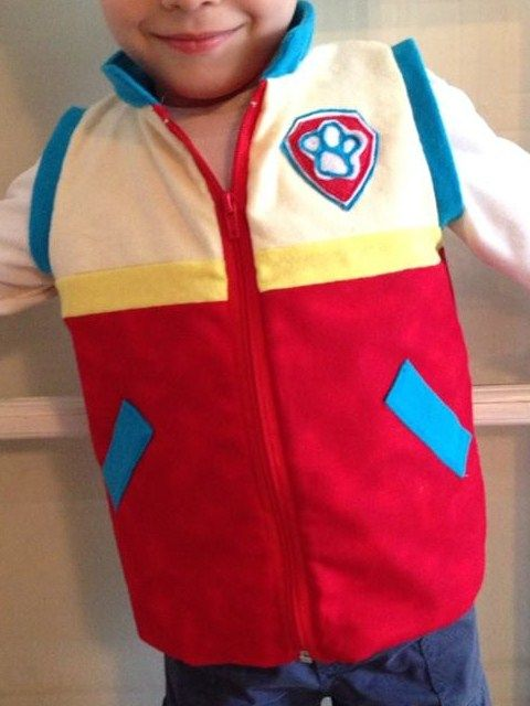 Paw Patrol Ryder Inspired Vest costume This was for my sons 5th birthday he loves it so much  https://www.etsy.com/listing/221761086/paw-patrol-ryder-vest-inspired-costume?ref=shop_home_active_2