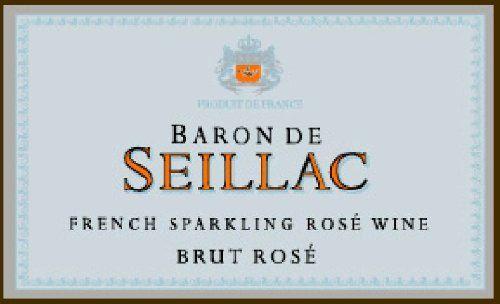 Baron de Seillac NV Rosé 750 mL
