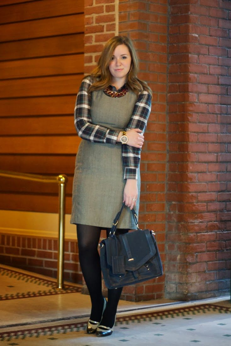 best images about alternative job interview attire layering a plaid or other button down under a simple sleeveless shift dress perfect for a work outfit