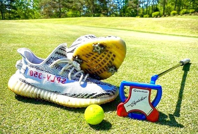 yeezy golf shoes