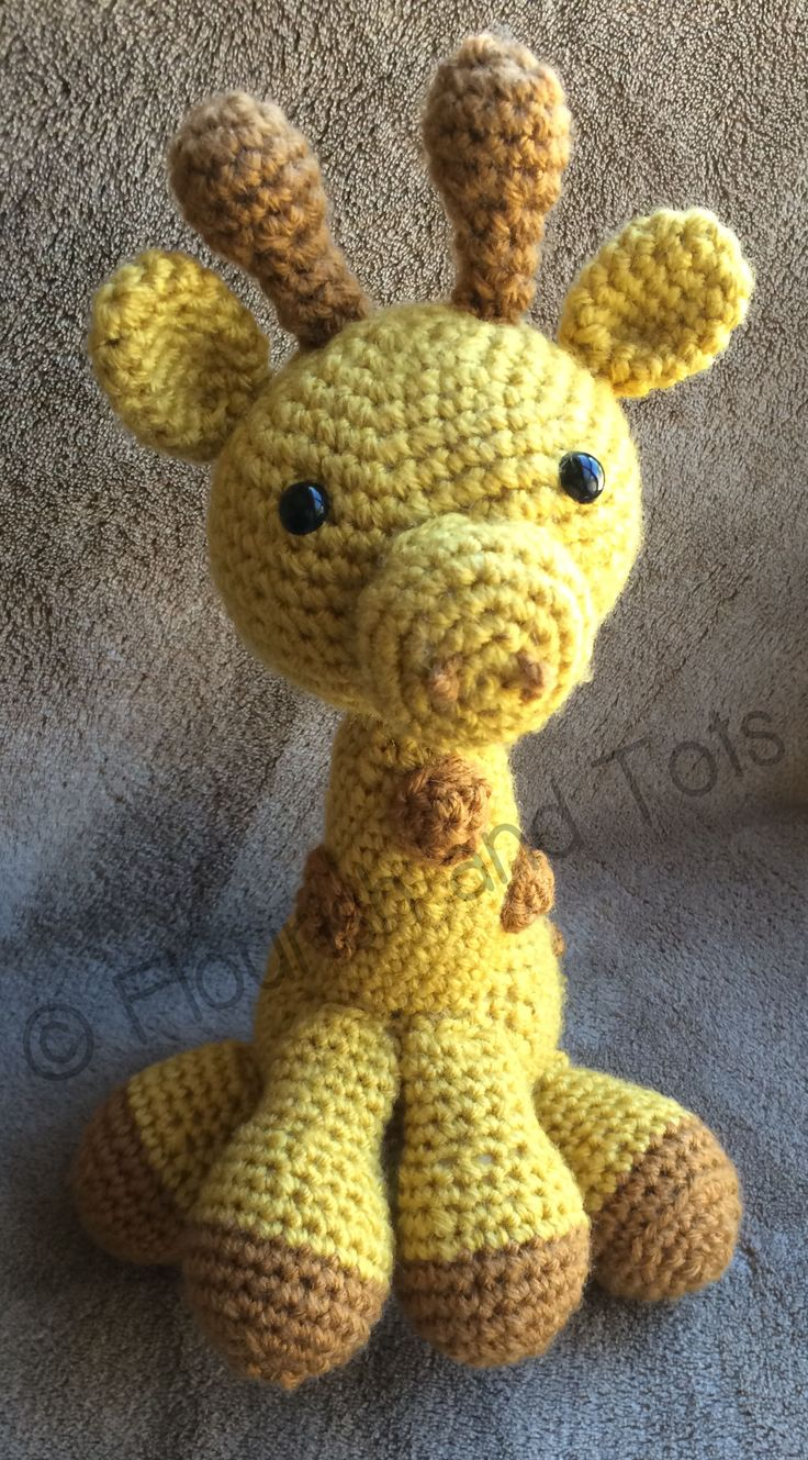 I have twin nieces, one of whom asked specifically for a giraffe after she saw the Elephant Snuggle that I made for my newborn nephew. I wrote this pattern with ease and adorability in mind. This w...