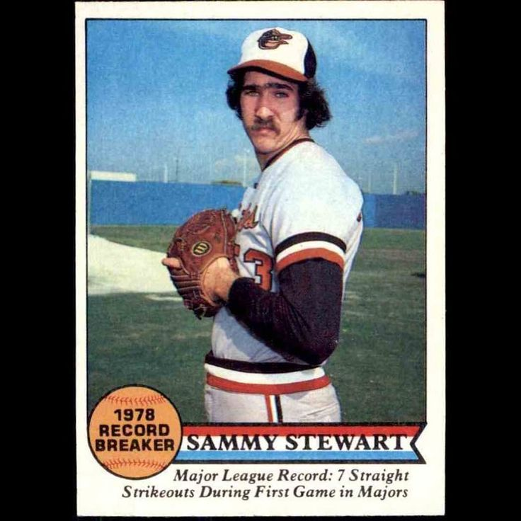 Today #Birdland remembers #SammyStewart versatile relief ace 1981 AL ERA leader and member of the 1979 AL Pennant-winners and 1983 World Champion #Orioles who passed away Thursday at the age of 63. Stewart a native of Asheville NC pitched for eight seasons with #Baltimore before spending two years in Boston and Cleveland to end his career. He retired with a career 59-48 mark and a 3.59 ERA highlighted by his league-leading 2.32 ERA in the strike-shortened 1981 season. Stewart was at his best…
