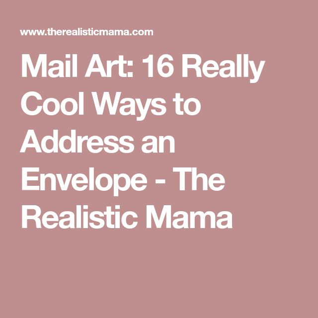 Best  Address An Envelope Ideas On   How To Address