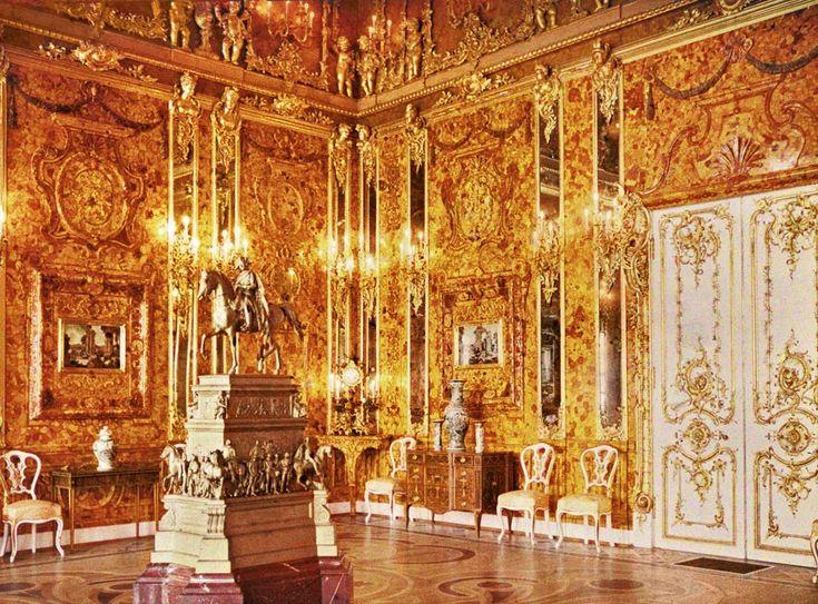 Andrey Zeest - Amber Room 2 (autochrome) - Amber Room - Wikipedia