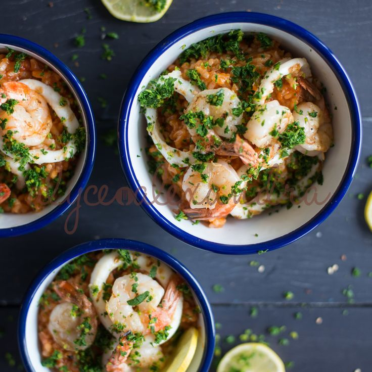 Seafood Risotto — alyce alexandra