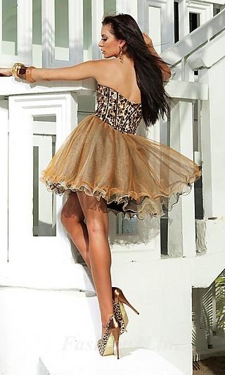 cheetah  dress
