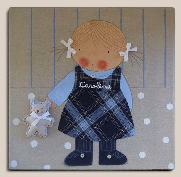 Cuadros personalizados cuadros infantiles personalizados - Cuadros artesanales infantiles ...